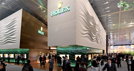 stand rolex a baselworld